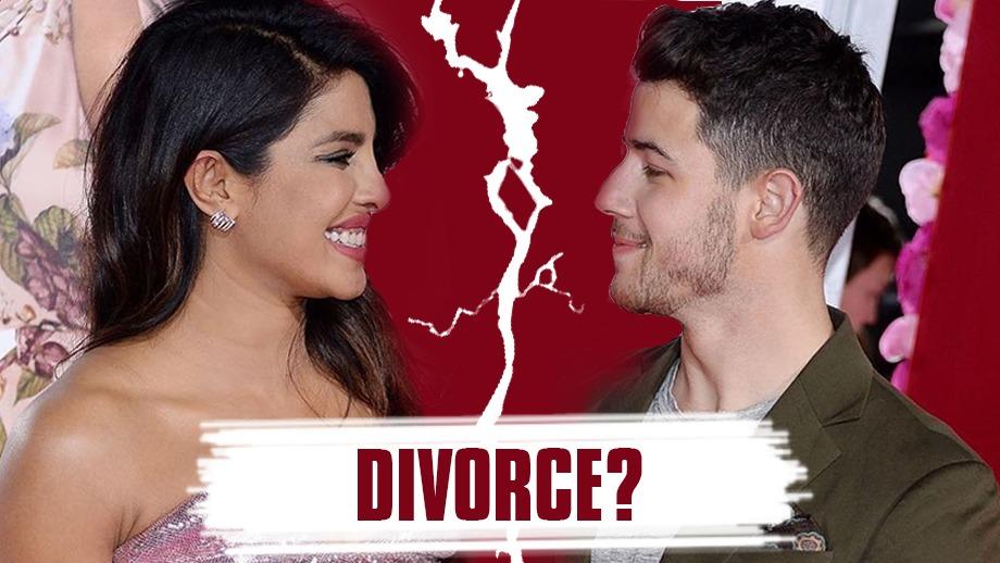 Priyanka Chopra and Nick Jonas headed for a divorce?
