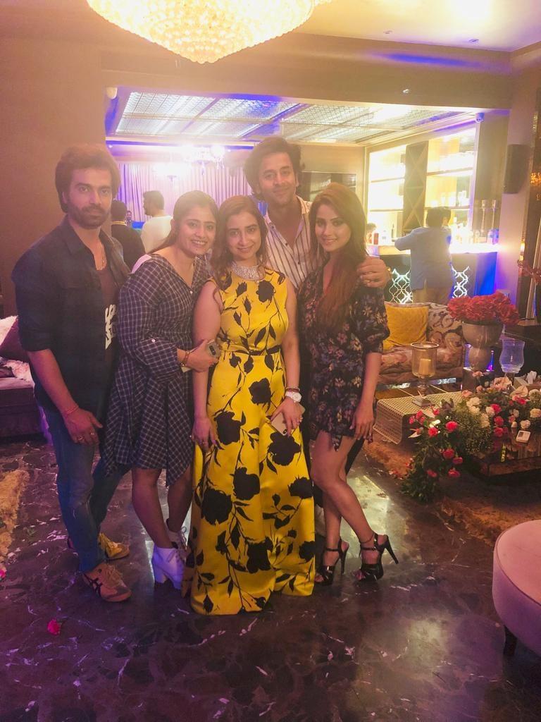 Producer Rashmi Sharma's birthday bash 1