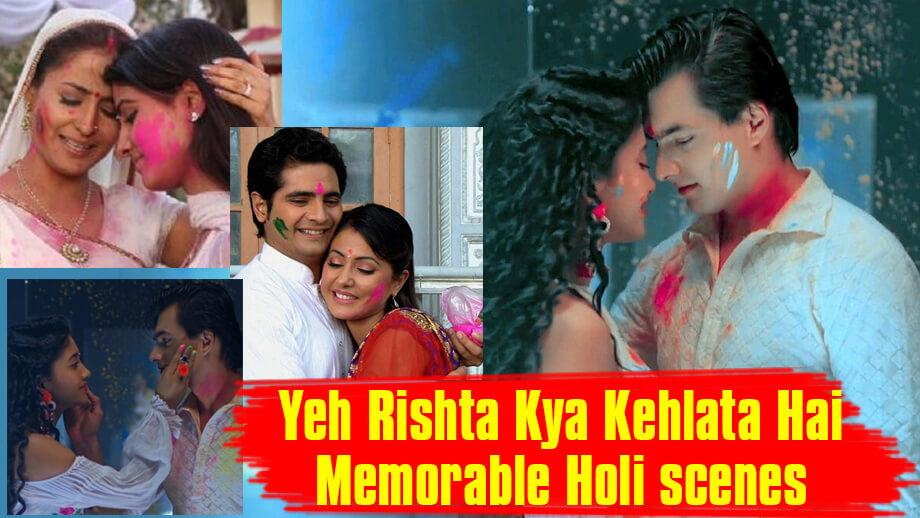 Relive Yeh Rishta Kya Kehlata Hai memorable Holi scenes over the years 4