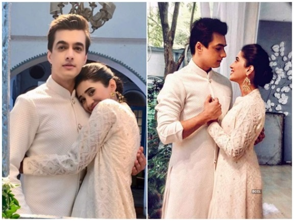 The Love-Struck TV Couple: Shivangi Joshi and Mohsin Khan 1