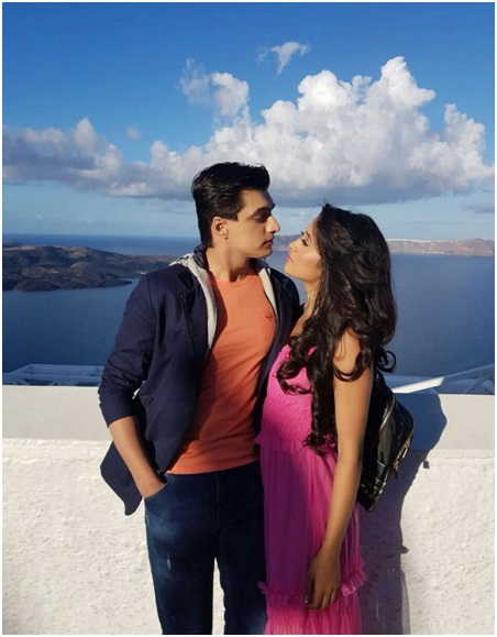 The Love-Struck TV Couple: Shivangi Joshi and Mohsin Khan 2