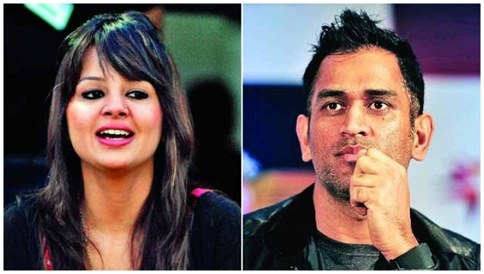 When Captain Cool MS Dhoni Was Bowled Over By Wife Sakshi Rawat 2