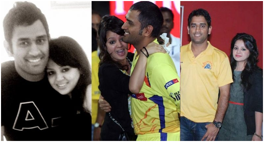 When Captain Cool MS Dhoni Was Bowled Over By Wife Sakshi Rawat 4