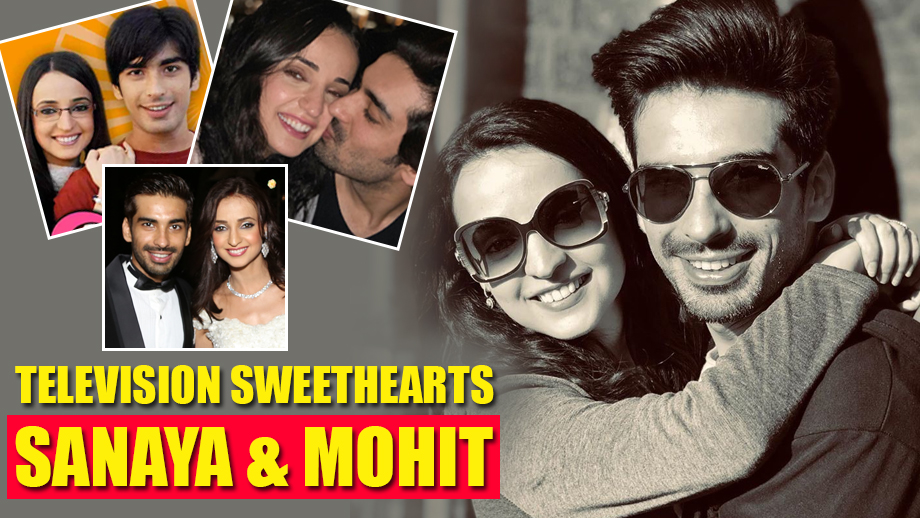 When Cupid Struck Television Sweethearts Sanaya Irani And Mohit Sehgal