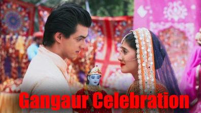 Yeh Rishta Kya Kehlata Hai: Kartik and Naira gear up for Gangaur celebration