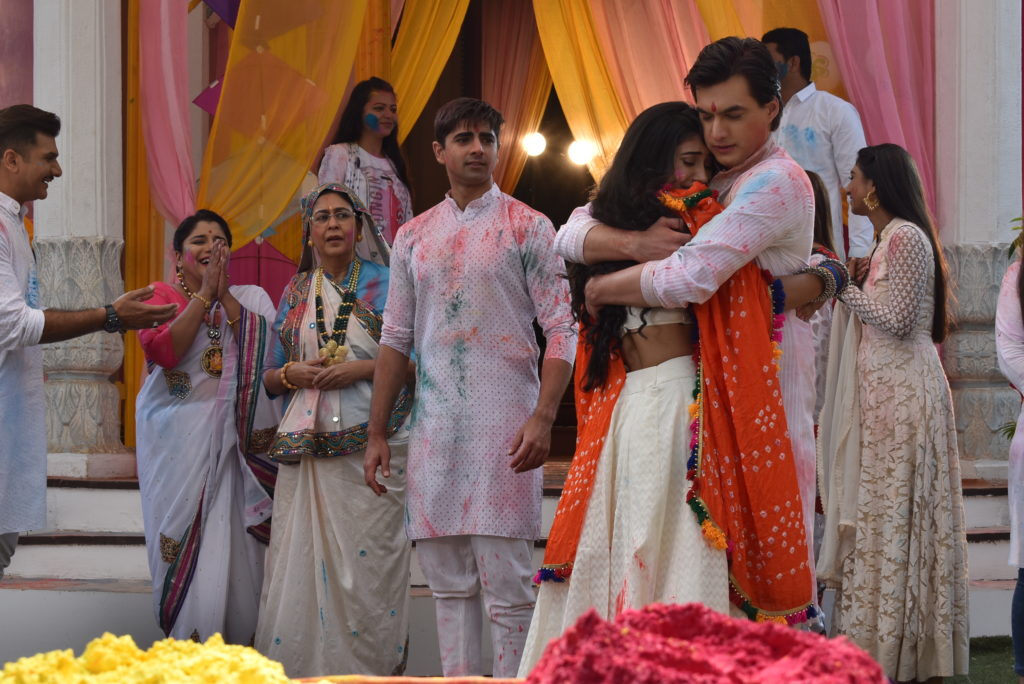Yeh Rishta Kya Kehlata Hai: Kartik and Naira's romantic 'Holi' celebration
