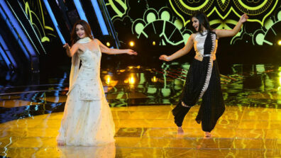 Alia Bhatt teaches The Voice contestant dance to 'Ghar More Pardesiya'