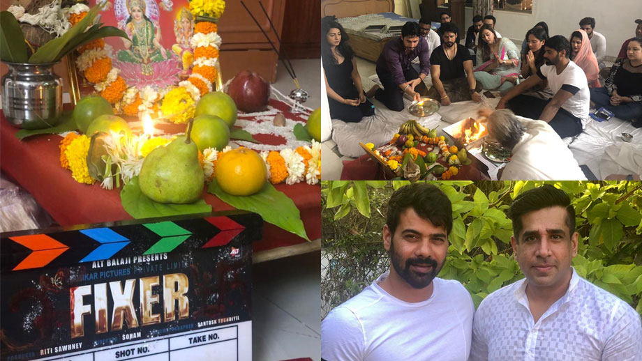 ALTBalaji series Fixer produced by Sakett Saawhney goes on floor