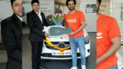 Arhaan Behll buys a swanky Mercedes Benz from Shaman Motors