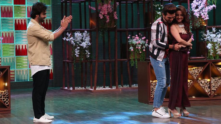 Arjun Bijlani Turns Love Guru For Arhaan Behll On The Sets