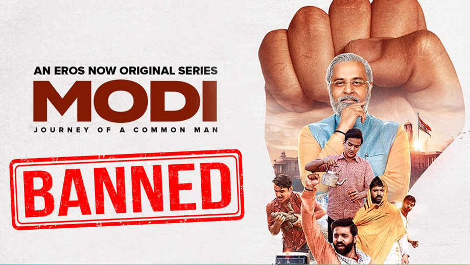 EC asks Eros Now to withhold airing episodes of PM Modi's web series