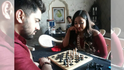 Ek Bhram Sarvagun Sampanna: Zain Imam, Tina Philip and cast bond over chess 2