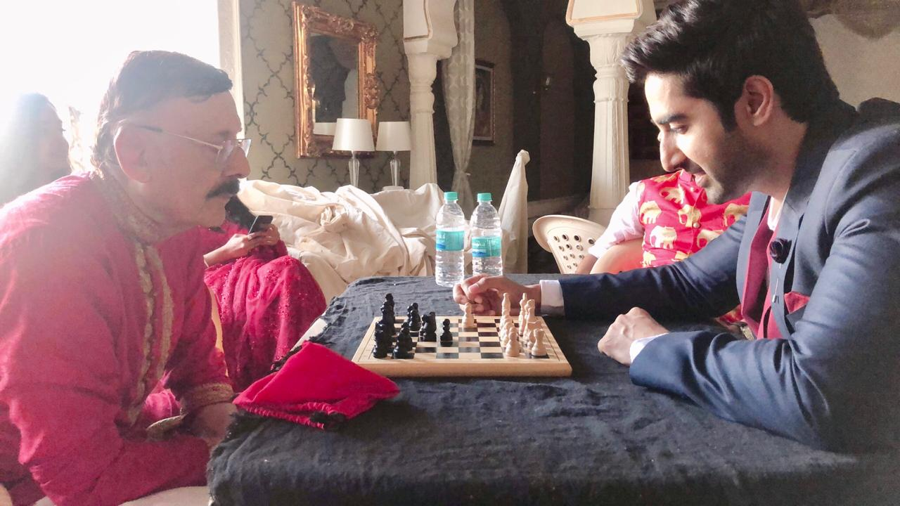 Ek Bhram Sarvagun Sampanna: Zain Imam, Tina Philip and cast bond over chess 3