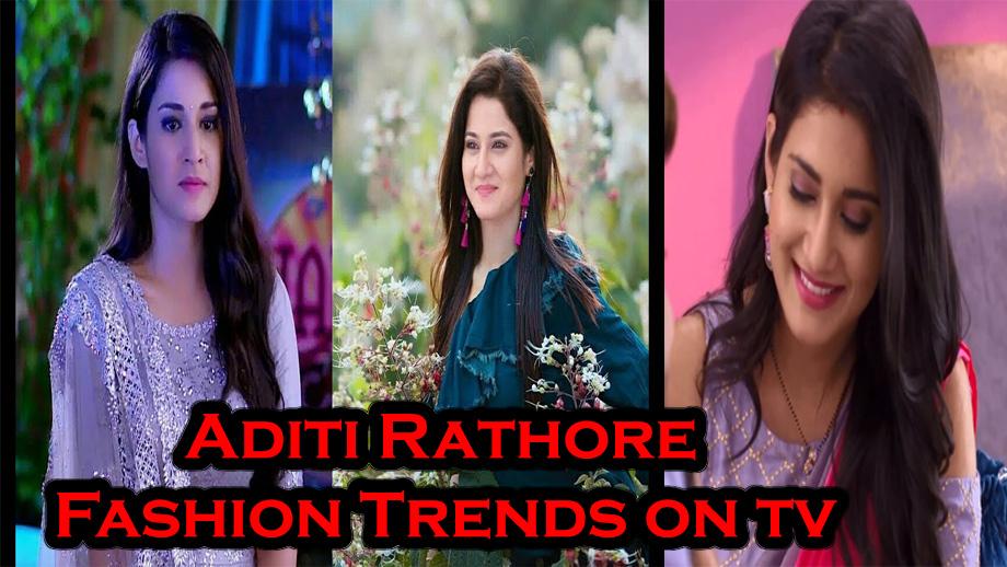 Fashion Trends That Aditi Rathore Made Regular On TV!