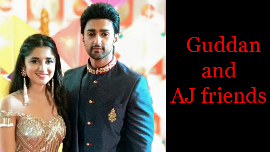Guddan Tumse Na Ho Payega 23 April 2019 Written Update Full Episode: Guddan and AJ friends