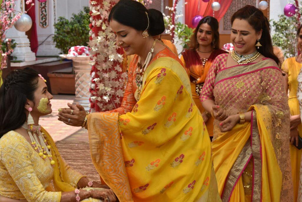 Haldi ceremony in Yeh Rishtey Hain Pyaar Ke 1