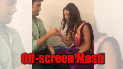 Kasautii Zindagii Kay: Parth Samthaan and Pooja Bannerjee's off-screen masti on set
