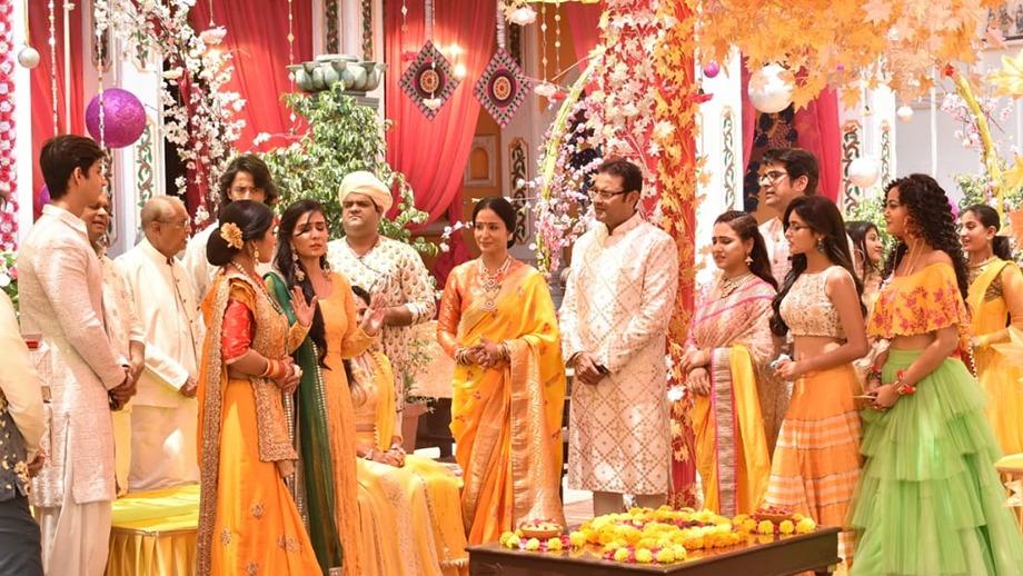 Ketki's haldi ceremony in Yeh Rishtey Hai Pyaar Ke 1