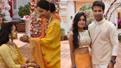 Ketki's haldi ceremony in Yeh Rishtey Hai Pyaar Ke