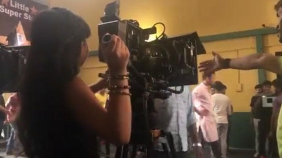 Kulfi Kumar Bajewala: Amyra aka Myra Singh turns 'Director' on set