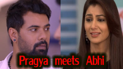 Kumkum Bhagya 26 April 2019 Written Update Full Episode: Pragya runs to meet Abhi