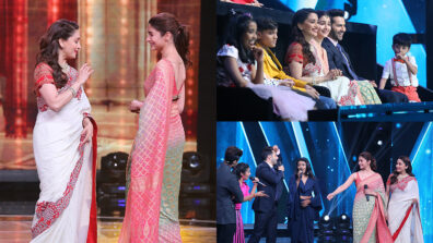 Madhuri Dixit recreates 'Tabah Ho Gaye' on the sets of Sa Re Ga Ma Pa L'il Champs
