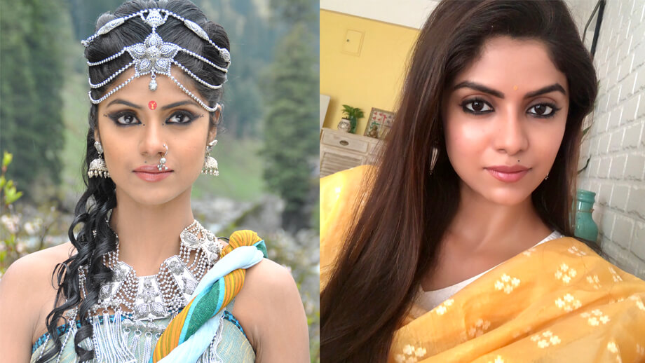 Mahabharat TV Serial All Characters Real Names With Photographs : Satyavati / Sayantani Ghosh