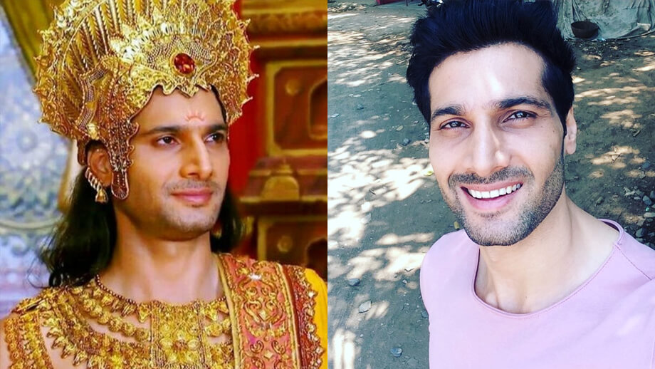 Mahabharat TV Serial All Characters Real Names With Photographs : Karna / Aham Sharma