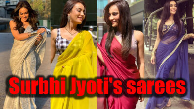Naagin 3' Bela aka Surbhi Jyoti's sarees will give a new look to your wardrobe 11