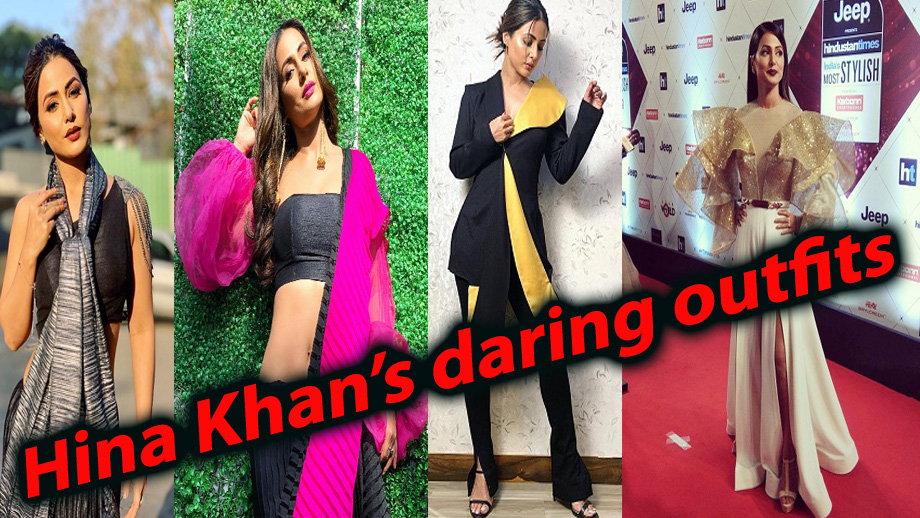 Only TV Fashionista Hina Khan can carry off these daring outfits 7