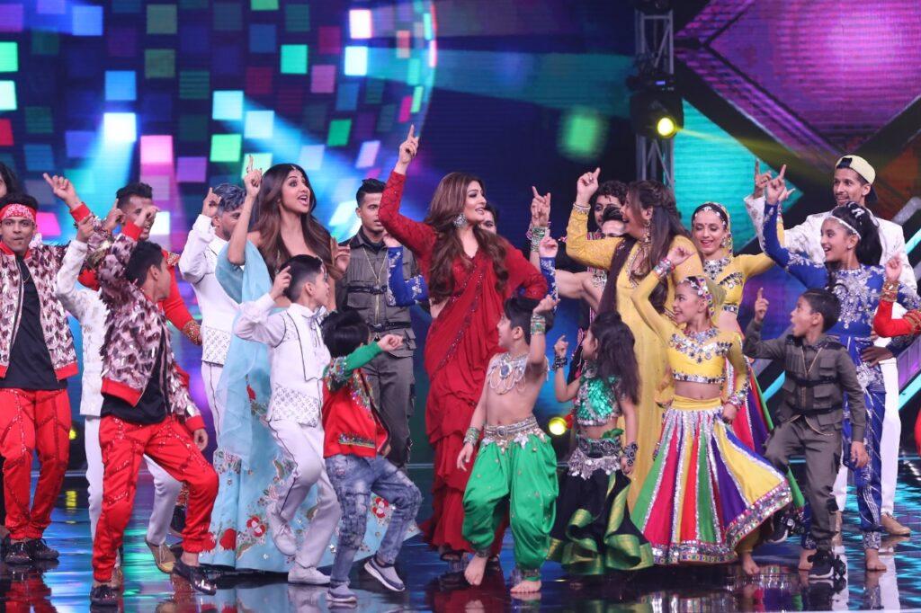 Raveena Tandon on Super Dancer Chapter 3 2