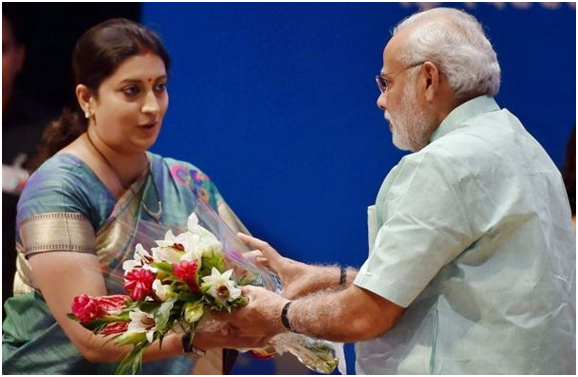 Rise of Smriti Irani: From model to Tulsi Virani to Textiles Minister of India 9