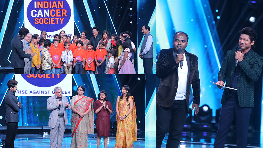 Sa Re Ga Ma Pa L'il Champs: Shaan sings his ode to the Cancer cause