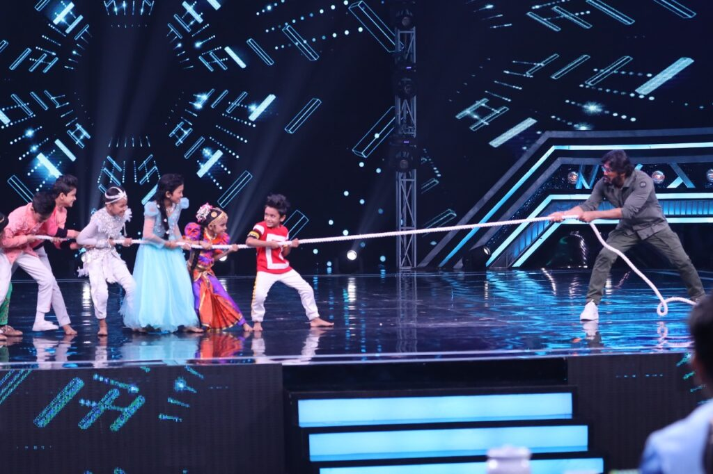 Suniel Shetty on Super Dancer Chapter 3