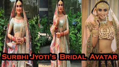 Surbhi Jyoti's Bridal Avatar Will Solve All Your Last Minute Lehenga Fixes