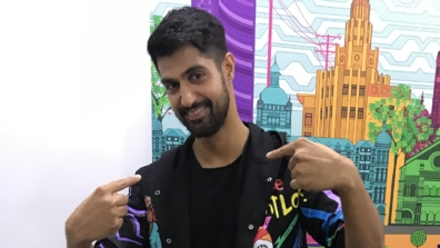 Tanuj Virwani poses after a fun LIVE chat with IWMBuzz 4