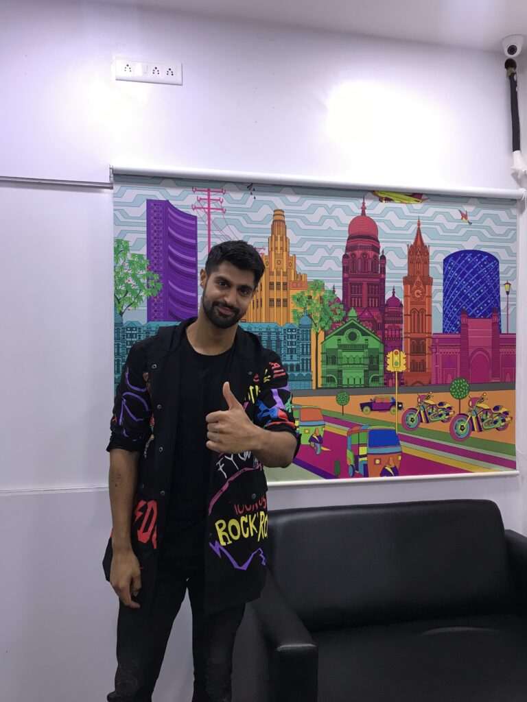 Tanuj Virwani poses after a fun LIVE chat with IWMBuzz 5