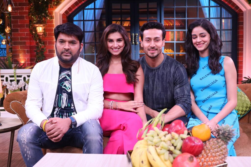Tiger Shroff, Ananya Pandey and Tara Sutaria on The Kapil Sharma Show 2