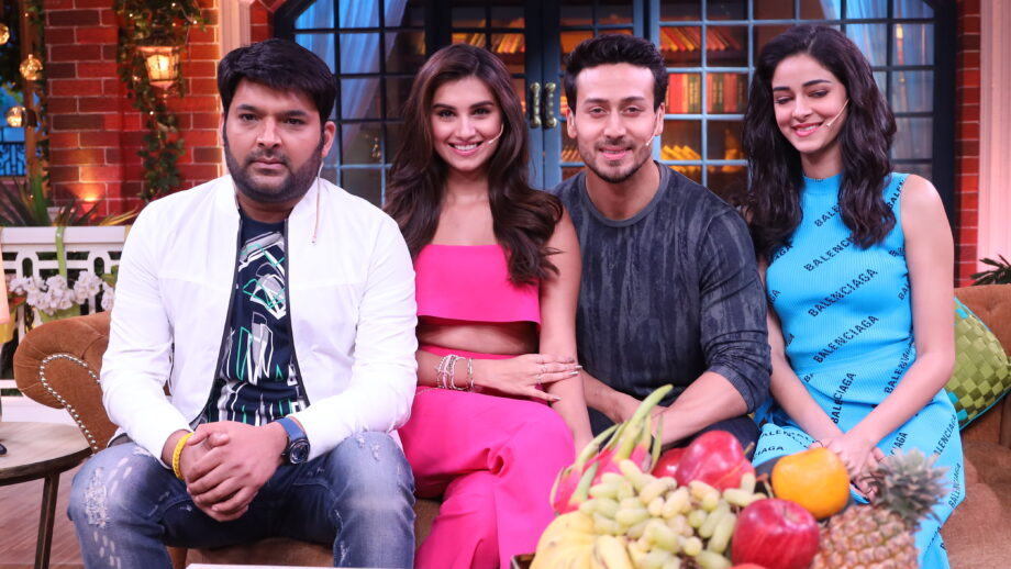 Tiger Shroff, Ananya Pandey and Tara Sutaria on The Kapil Sharma Show 2