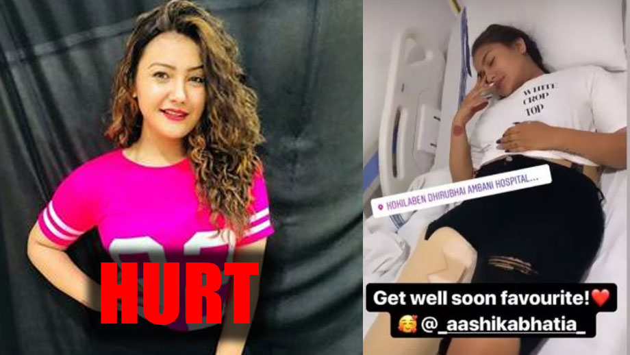 TikTok star Aashika Bhatia meets with an accident