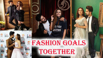When The Stylish Jodi Ravi Dubey And Sargun Mehta Set Major Fashion Goals Together 9