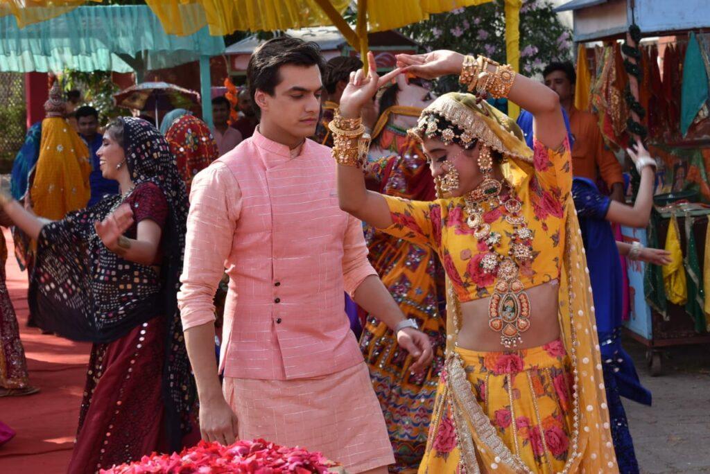 Yeh Rishta Kya Kehlata Hai: Kartik and Naira's romance during Gangaur celebration 13