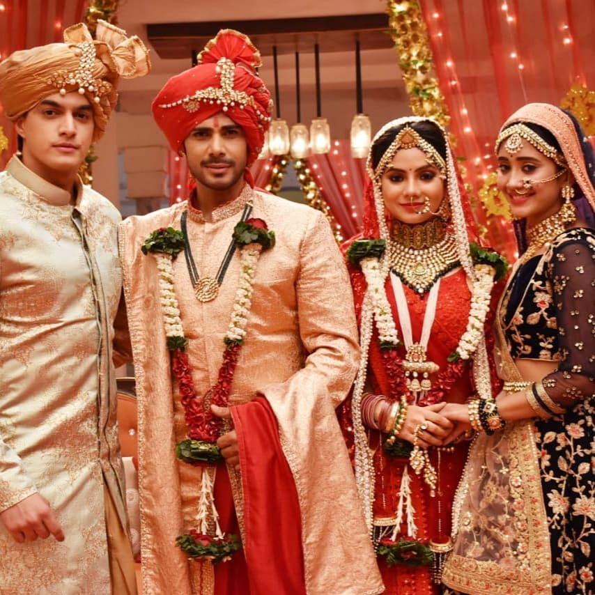 Yeh Rishta Kya Kehlata Hai: Samarth and Gayu get married amidst Puru Mama drama 1