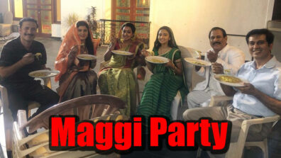 Yeh Un Dinon Ki Baat Hai: Maggi party on the sets 1
