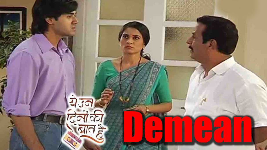 Yeh Un Dinon Ki Baat Hai: Mama to demean Sameer in office