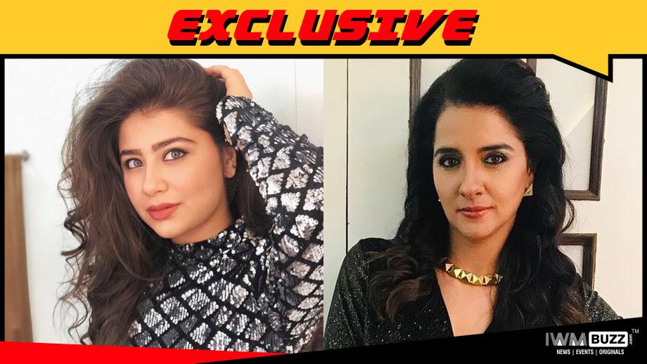 Aditi Bhatia and Shruti Seth in SAB TV's Apna News Aayega