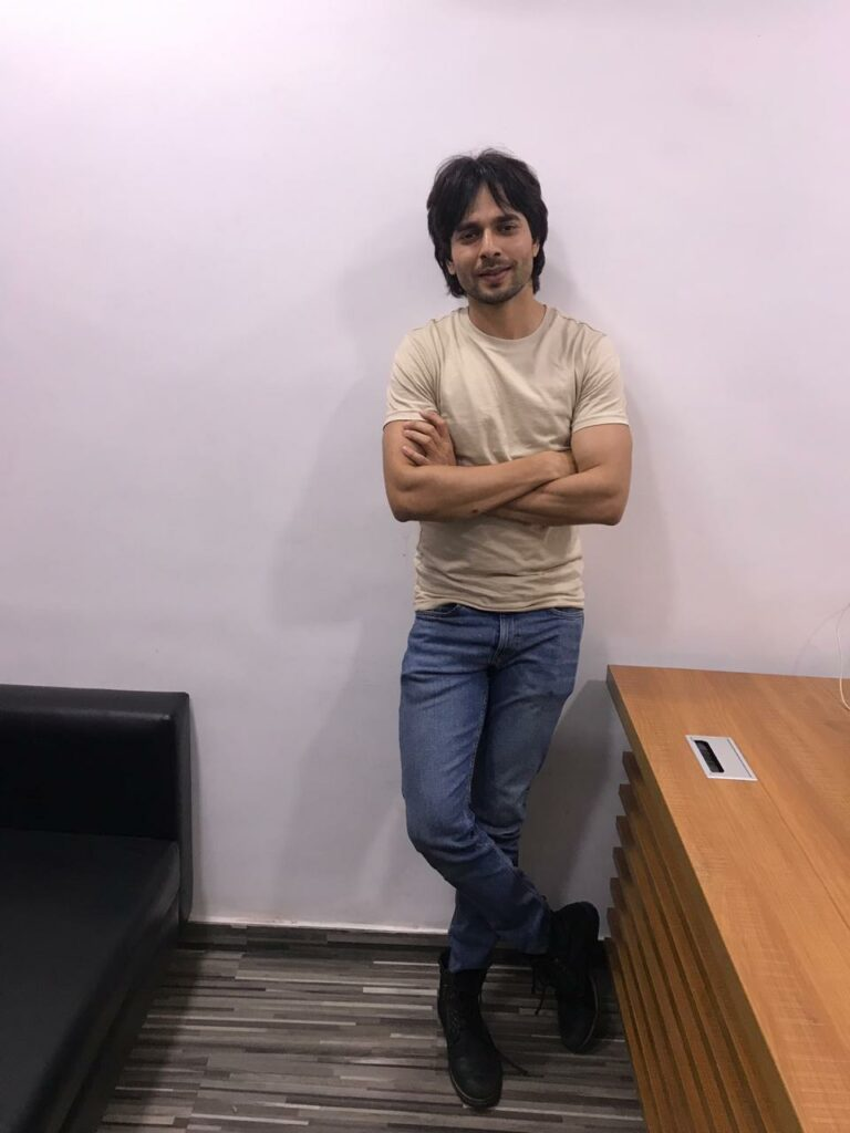 Ansh Bagri poses after a fun LIVE chat with IWMBuzz
