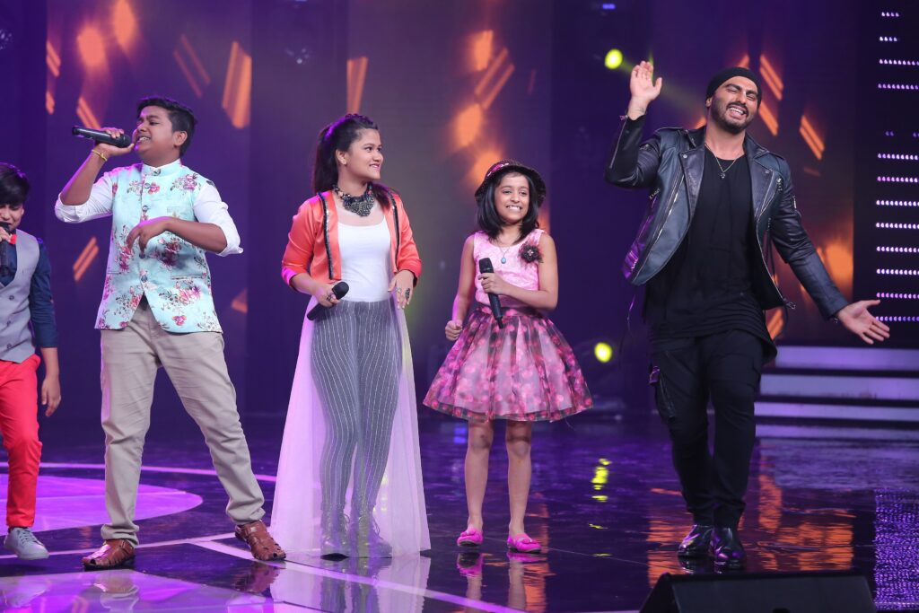 Arjun Kapoor on Sa Re Ga Ma Pa Li'l Champs 3