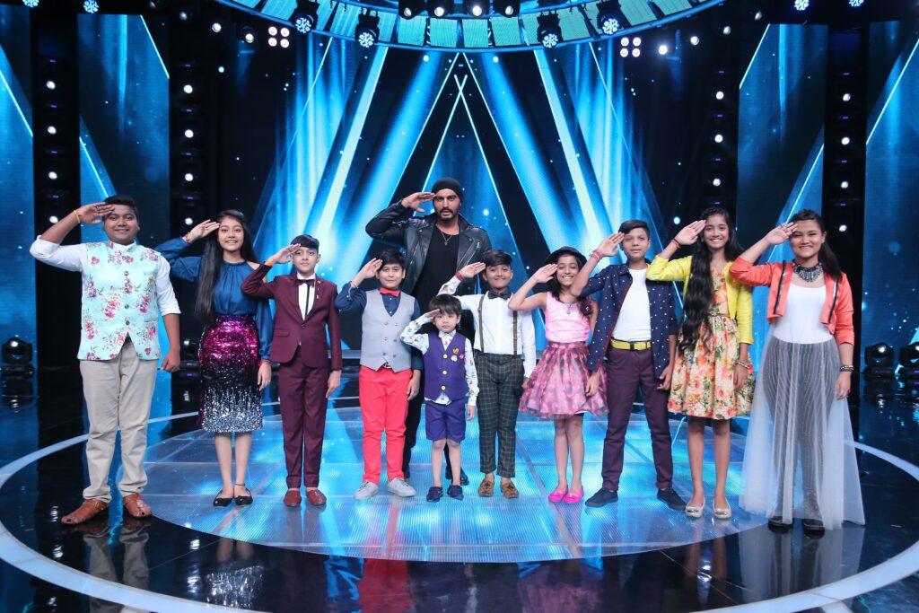 Arjun Kapoor on Sa Re Ga Ma Pa Li'l Champs 4