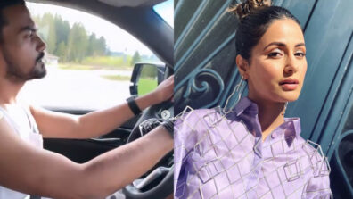 Beau Rocky takes Hina Khan for a drive in Switzerland